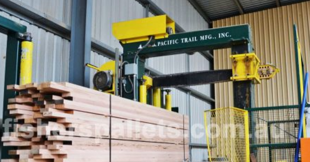 Fisher's Pallets Timber Precision Docking Services