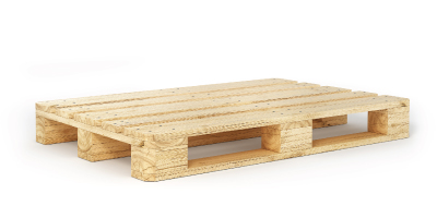 Fisher's 2-Way wooden pallets